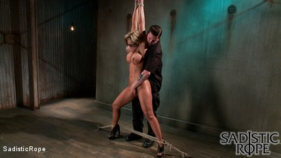 Photo number 2 from Sadistic Reunion  shot for Sadistic Rope on Kink.com. Featuring Phoenix Marie in hardcore BDSM & Fetish porn.