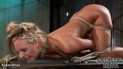 Photo number 7 from Sadistic Reunion  shot for Sadistic Rope on Kink.com. Featuring Phoenix Marie in hardcore BDSM & Fetish porn.