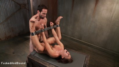 Photo number 14 from Fresh Meat - Mischa Brooks shot for Brutal Sessions on Kink.com. Featuring Maestro and Mischa Brooks in hardcore BDSM & Fetish porn.