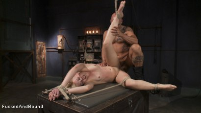 Photo number 14 from Screams of Suffering shot for  on Kink.com. Featuring Derrick Pierce and Dylan Ryan in hardcore BDSM & Fetish porn.