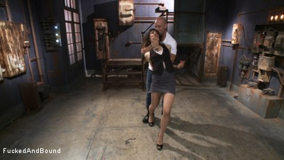 Photo number 2 from Looking for Trouble shot for Fucked and Bound on Kink.com. Featuring Derrick Pierce and Bianca Stone in hardcore BDSM & Fetish porn.