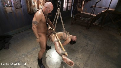 Photo number 14 from Looking for Trouble shot for Fucked and Bound on Kink.com. Featuring Derrick Pierce and Bianca Stone in hardcore BDSM & Fetish porn.