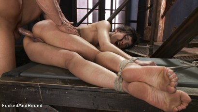 Photo number 16 from Looking for Trouble shot for Fucked and Bound on Kink.com. Featuring Derrick Pierce and Bianca Stone in hardcore BDSM & Fetish porn.