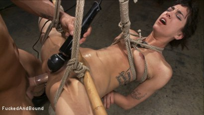 Photo number 3 from Looking for Trouble shot for Fucked and Bound on Kink.com. Featuring Derrick Pierce and Bianca Stone in hardcore BDSM & Fetish porn.