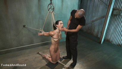 Photo number 2 from Wenona Fucked Hard in Brutal Bondage shot for  on Kink.com. Featuring Wenona and Mickey Mod in hardcore BDSM & Fetish porn.
