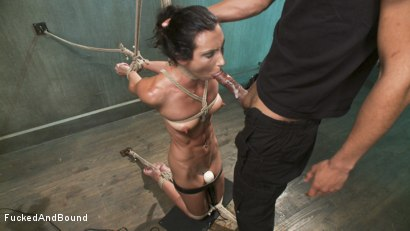 Photo number 9 from Wenona Fucked Hard in Brutal Bondage shot for  on Kink.com. Featuring Wenona and Mickey Mod in hardcore BDSM & Fetish porn.