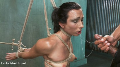 Photo number 10 from Wenona Fucked Hard in Brutal Bondage shot for  on Kink.com. Featuring Wenona and Mickey Mod in hardcore BDSM & Fetish porn.