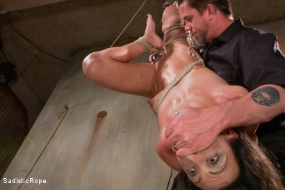 Photo number 4 from Destroying a Bondage Legend shot for Sadistic Rope on Kink.com. Featuring Wenona in hardcore BDSM & Fetish porn.