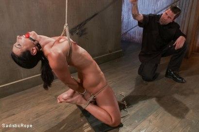 Photo number 7 from Destroying a Bondage Legend shot for Sadistic Rope on Kink.com. Featuring Wenona in hardcore BDSM & Fetish porn.