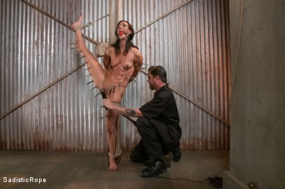 Photo number 9 from Destroying a Bondage Legend shot for Sadistic Rope on Kink.com. Featuring Wenona in hardcore BDSM & Fetish porn.