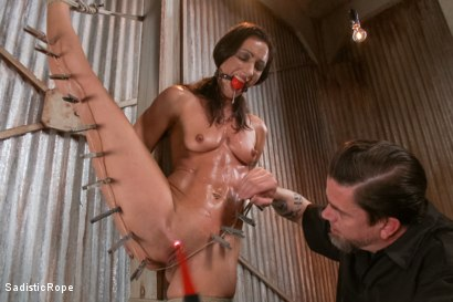 Photo number 10 from Destroying a Bondage Legend shot for Sadistic Rope on Kink.com. Featuring Wenona in hardcore BDSM & Fetish porn.