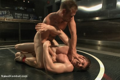"Photo number 8 from Will ""The Punisher"" Parks vs John ""Jizz on Your Face"" Jammen shot for Naked Kombat on Kink.com. Featuring Will Parks and John Jammen in hardcore BDSM & Fetish porn."