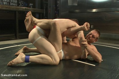 "Photo number 4 from Will ""The Punisher"" Parks vs John ""Jizz on Your Face"" Jammen shot for Naked Kombat on Kink.com. Featuring Will Parks and John Jammen in hardcore BDSM & Fetish porn."
