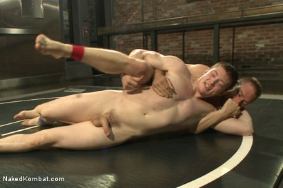 "Photo number 5 from Will ""The Punisher"" Parks vs John ""Jizz on Your Face"" Jammen shot for Naked Kombat on Kink.com. Featuring Will Parks and John Jammen in hardcore BDSM & Fetish porn."