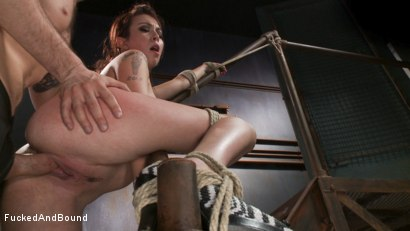 Photo number 12 from Training the New Whore shot for  on Kink.com. Featuring Maestro and Kat Dior in hardcore BDSM & Fetish porn.