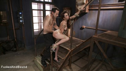 Photo number 6 from Training the New Whore shot for  on Kink.com. Featuring Maestro and Kat Dior in hardcore BDSM & Fetish porn.