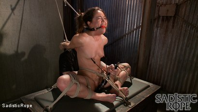 Photo number 2 from Everything Hurts shot for Sadistic Rope on Kink.com. Featuring Kristina Rose in hardcore BDSM & Fetish porn.