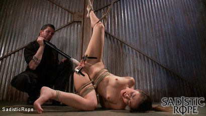 Photo number 15 from Everything Hurts shot for Sadistic Rope on Kink.com. Featuring Kristina Rose in hardcore BDSM & Fetish porn.