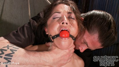 Photo number 4 from Everything Hurts shot for Sadistic Rope on Kink.com. Featuring Kristina Rose in hardcore BDSM & Fetish porn.