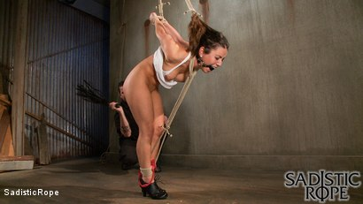 Photo number 2 from Blair Bitch Project shot for Sadistic Rope on Kink.com. Featuring Serena Blair in hardcore BDSM & Fetish porn.