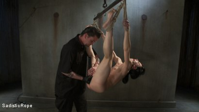 Photo number 1 from <B>Elise Graves - DESTROYED!!!!!!! shot for Sadistic Rope on Kink.com. Featuring Elise Graves in hardcore BDSM & Fetish porn.