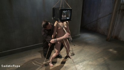Photo number 12 from <B>Elise Graves - DESTROYED!!!!!!! shot for Sadistic Rope on Kink.com. Featuring Elise Graves in hardcore BDSM & Fetish porn.