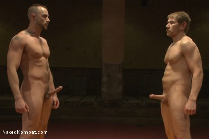 """Photo number 15 from Alex """"The Axe"""" Adams vs Jessie """"Cut-Throat"""" Colter - Redemption Match shot for nakedkombat on Kink.com. Featuring Alex Adams and Jessie Colter in hardcore BDSM & Fetish porn."""