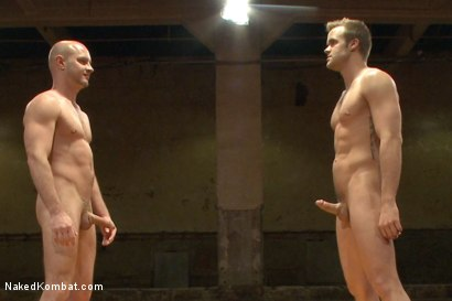 "Photo number 14 from Connor ""The Pulverizer"" Patricks vs Chase ""The Champ"" shot for Naked Kombat on Kink.com. Featuring Connor Patricks and Jonathan Michaels in hardcore BDSM & Fetish porn."