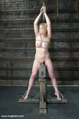 Photo number 13 from Anna Mills and Sgt. Major shot for Hogtied on Kink.com. Featuring Sgt. Major and Anna Mills in hardcore BDSM & Fetish porn.