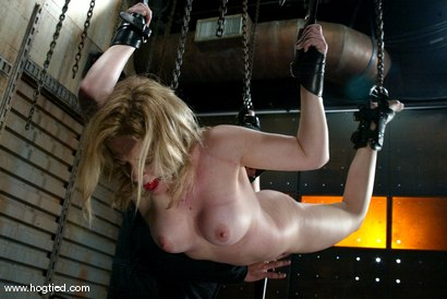 Photo number 4 from Anna Mills and Sgt. Major shot for Hogtied on Kink.com. Featuring Sgt. Major and Anna Mills in hardcore BDSM & Fetish porn.