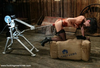 Photo number 4 from Wenona shot for Fucking Machines on Kink.com. Featuring Wenona in hardcore BDSM & Fetish porn.