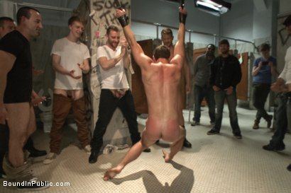 Photo number 12 from Cameron Kincade's Dirty Fantasy  shot for Bound in Public on Kink.com. Featuring Jeremy Stevens and Cameron Kincade in hardcore BDSM & Fetish porn.