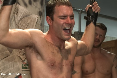 Photo number 10 from Cameron Kincade's Dirty Fantasy  shot for Bound in Public on Kink.com. Featuring Jeremy Stevens and Cameron Kincade in hardcore BDSM & Fetish porn.