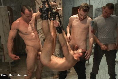 Photo number 14 from Cameron Kincade's Dirty Fantasy  shot for Bound in Public on Kink.com. Featuring Jeremy Stevens and Cameron Kincade in hardcore BDSM & Fetish porn.