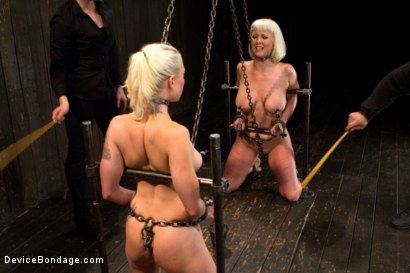 Photo number 15 from Claire & Orlando vs Lorelei & Cherry shot for Device Bondage on Kink.com. Featuring Orlando, Lorelei Lee and Cherry Torn in hardcore BDSM & Fetish porn.