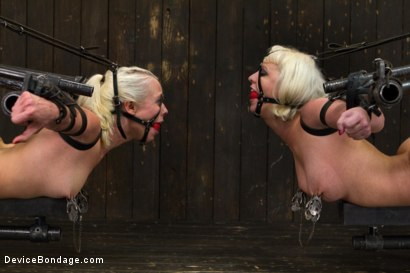 Photo number 9 from Claire & Orlando vs Lorelei & Cherry shot for Device Bondage on Kink.com. Featuring Orlando, Lorelei Lee and Cherry Torn in hardcore BDSM & Fetish porn.