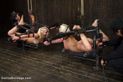Photo number 10 from Claire & Orlando vs Lorelei & Cherry shot for Device Bondage on Kink.com. Featuring Orlando, Lorelei Lee and Cherry Torn in hardcore BDSM & Fetish porn.