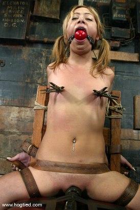 Photo number 8 from Kat shot for Hogtied on Kink.com. Featuring Kat in hardcore BDSM & Fetish porn.