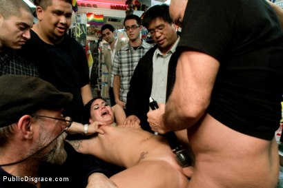 Photo number 11 from My girl lollipop! shot for Public Disgrace on Kink.com. Featuring Karmen Karma and Mark Davis in hardcore BDSM & Fetish porn.
