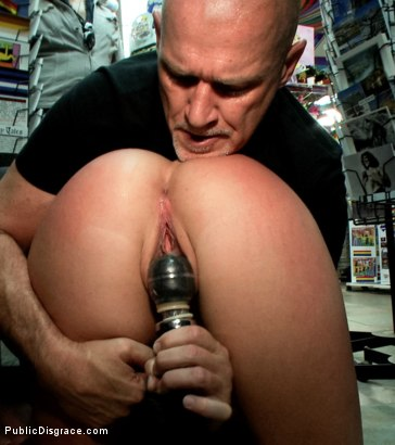 Photo number 15 from My girl lollipop! shot for Public Disgrace on Kink.com. Featuring Karmen Karma and Mark Davis in hardcore BDSM & Fetish porn.