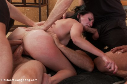Photo number 8 from Stranded and Stuffed - Starring Veruca James shot for Hardcore Gangbang on Kink.com. Featuring Veruca James, Tommy Pistol, Danny Wylde, Bill Bailey, Jordan Ash, Astral Dust and Toni Ribas in hardcore BDSM & Fetish porn.