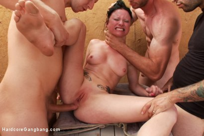 Photo number 11 from Stranded and Stuffed - Starring Veruca James shot for Hardcore Gangbang on Kink.com. Featuring Veruca James, Tommy Pistol, Danny Wylde, Bill Bailey, Jordan Ash, Astral Dust and Toni Ribas in hardcore BDSM & Fetish porn.
