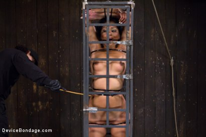 Photo number 3 from Orlando vs Yasmine de Leon shot for Device Bondage on Kink.com. Featuring Yasmine de Leon and Orlando in hardcore BDSM & Fetish porn.