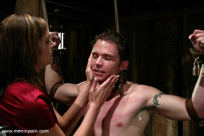 Photo number 2 from Crissy Cums and Dick Richards shot for Men In Pain on Kink.com. Featuring Crissy Cums and Dick Richards in hardcore BDSM & Fetish porn.