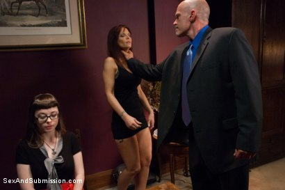 Photo number 2 from The Disobedient Submissive shot for Sex And Submission on Kink.com. Featuring Syren de Mer and Mark Davis in hardcore BDSM & Fetish porn.