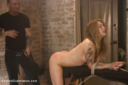 Photo number 7 from Fresh Meat: Alyssa Branch shot for Sex And Submission on Kink.com. Featuring Alyssa Branch and Mr. Pete in hardcore BDSM & Fetish porn.
