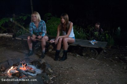 Photo number 1 from Bonding in Nature: Step Mom and Daughter BDSM Camping Adventure shot for Sex And Submission on Kink.com. Featuring Tommy Pistol, Krissy Lynn and Cassandra Nix in hardcore BDSM & Fetish porn.