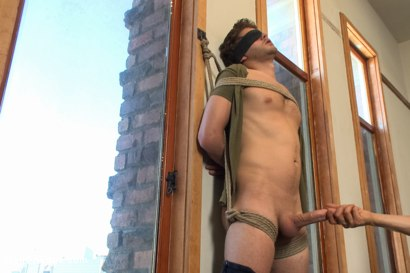 Photo number 5 from Straight boy next door is nervous about getting edged by two guys shot for Men On Edge on Kink.com. Featuring Wolf in hardcore BDSM & Fetish porn.