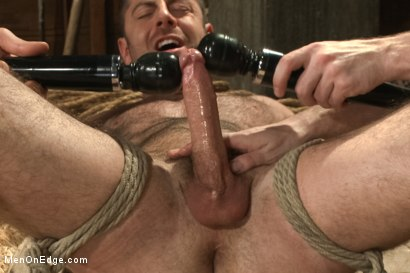 Photo number 10 from Hairy Muscle Hunk Has His Cock Edged By Two Farmers shot for Men On Edge on Kink.com. Featuring Brayden Forrester in hardcore BDSM & Fetish porn.