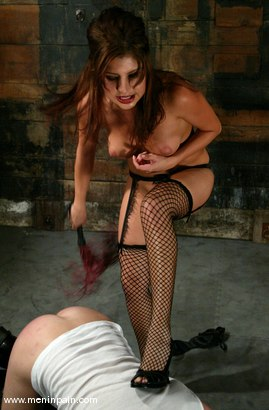 Photo number 3 from Sativa Rose and Dick Richards shot for Men In Pain on Kink.com. Featuring Sativa Rose and Dick Richards in hardcore BDSM & Fetish porn.
